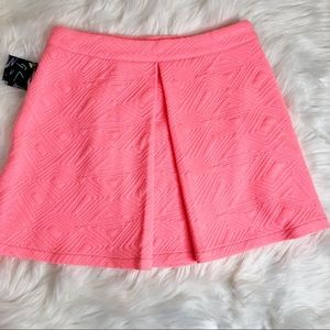 🆕 Nasty Gal A Line Pink Mini Skirt Size Small NWT